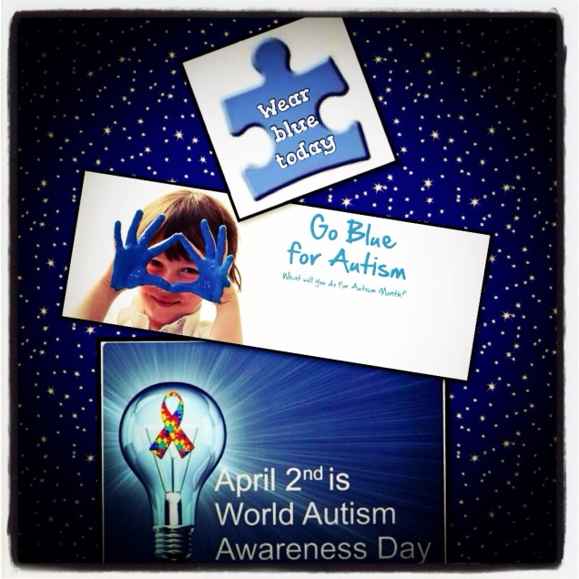Today is World Autism Awareness Day!