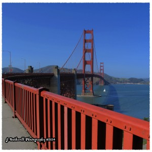 Spring Walk on the Golden Gate Bridge