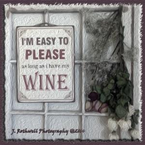 blog wine sign