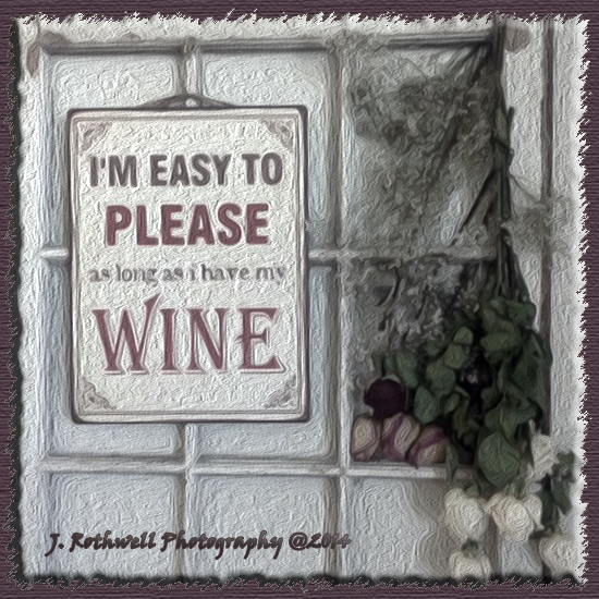 blog wine sign
