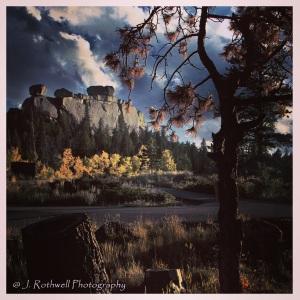 "Vedauwoo, Wyoming - Land of the Earthborn Spirit - Arapaho word ""bito'o'wu"" meaning ""earth-born""."